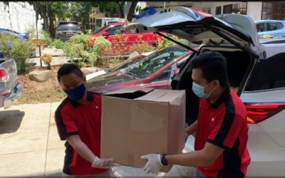 """Home Crest Hotel Food Drive """"With faith and hope, together we can rise as one"""""""