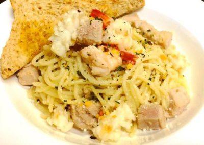 Pasta_Spaghetti Seafood Aglio Olio