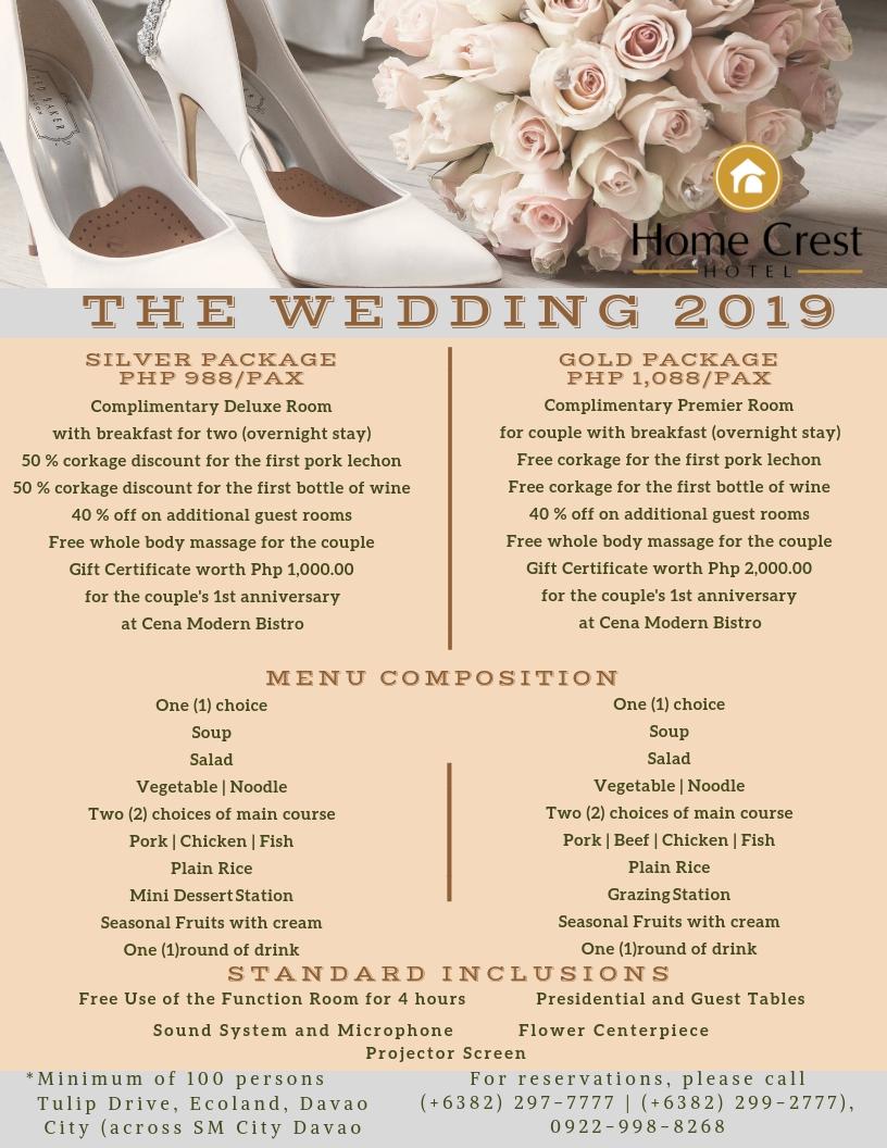 Wedding Package 2019